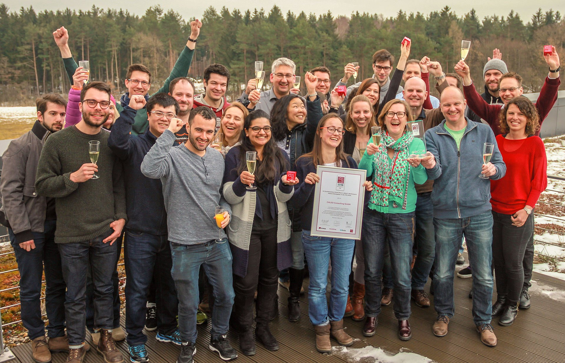 Best Place to Work - Caleo  Die SAP Enterprise Performance Manager